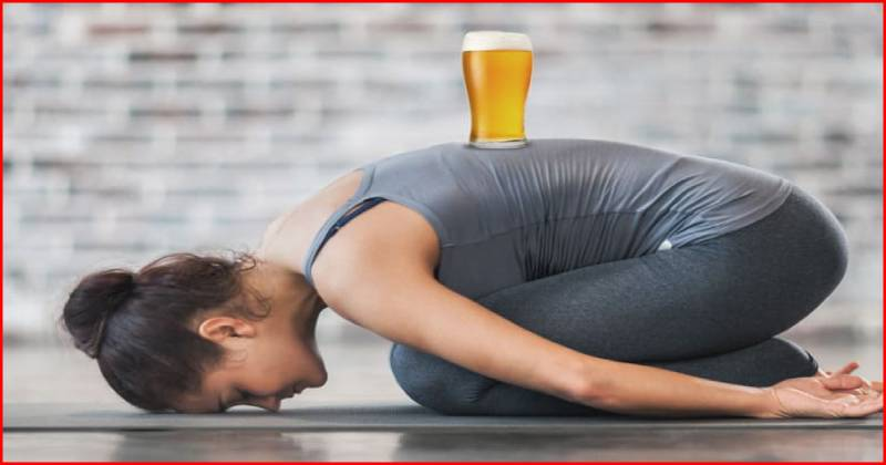 Beer Yoga: A kick-back for stress and something everyone should try